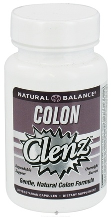 DROPPED: Natural Balance - Colon Clenz - 30 Vegetarian Capsules CLEARANCE PRICED