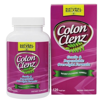 Natural Balance - Colon Clenz - 120 Capsules