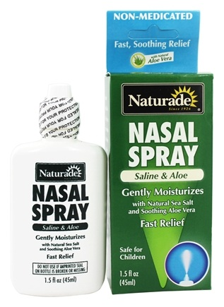 Zoom View - Nasal Spray Saline & Aloe