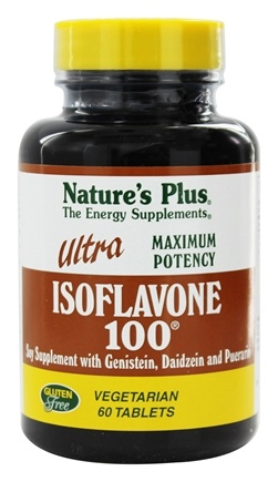 Nature's Plus - Ultra Isoflavone 100 - 60 Tablets