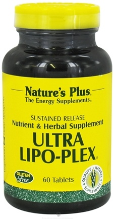 DROPPED: Nature's Plus - Ultra Lipo-Plex Sustained Release - 60 Tablets