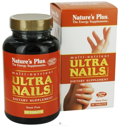 DROPPED: Nature's Plus - Ultra Nails - 90 Tablets