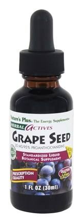 Zoom View - Herbal Actives Grape Seed Liquid Suspension