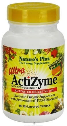 DROPPED: Nature's Plus - Ultra Actizyme with Activessence - 90 Tablets CLEARANCE PRICED