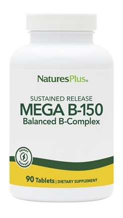 Nature's Plus - Mega B150 Sustained Release - 90 Tablets