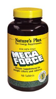 DROPPED: Nature's Plus - Mega Force - 90 Tablets CLEARANCE PRICED
