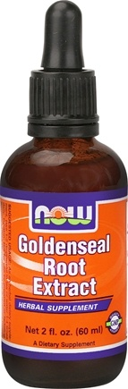 DROPPED: NOW Foods - Goldenseal Root Extract Vegetarian - 2 oz.