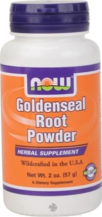 DROPPED: NOW Foods - Goldenseal Root Powder Vegetarian - 2 oz.