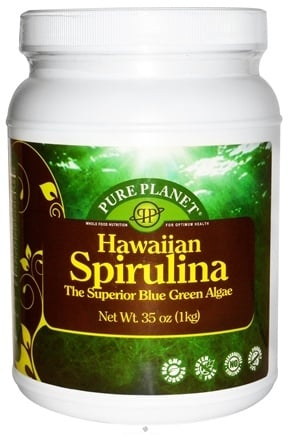 Zoom View - 100% Hawaiian Spirulina Powder