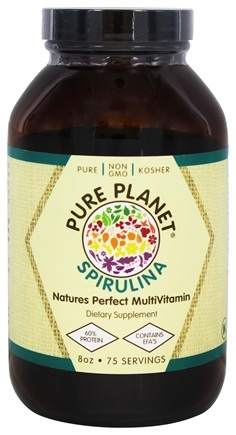 DROPPED: Pure Planet - Premium Spirulina 500 mg. - 8 oz. CLEARANCE PRICED
