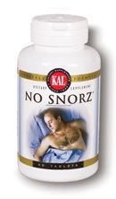 DROPPED: Kal - NoSnorz - 60 Tablets