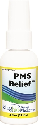 DROPPED: King Bio - Homeopathic Natural Medicine PMS Relief - 2 oz. CLEARANCE PRICED