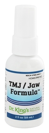Zoom View - Homeopathic Natural Medicine TMJ/Jaw Formula
