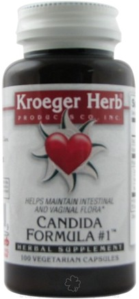 DROPPED: Kroeger Herbs - Herbal Combination Kantita - 100 Capsules CLEARANCE PRICED