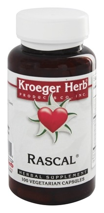 Kroeger Herbs - Herbal Combinations Rascal - 100 Capsules