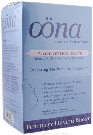 DROPPED: Oona - Fertility Health Boost - 30 Packet(s)
