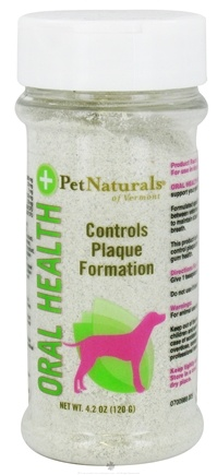 DROPPED: Pet Naturals of Vermont - Oral Health for Dogs - 4.2 oz.