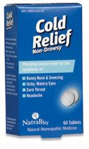 DROPPED: NatraBio - Cold Relief - 60 Tablets