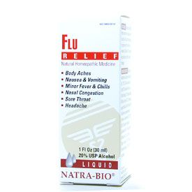 DROPPED: NatraBio - Flu - 1 oz.