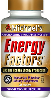 DROPPED: Michael's Naturopathic Programs - Energy Factors - 60 Tablets