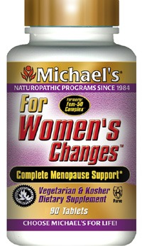 DROPPED: Michael's Naturopathic Programs - For Womens Changes - 60 Tablets Formerly FEM-50 Complex