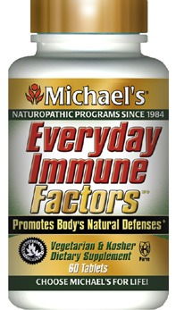 DROPPED: Michael's Naturopathic Programs - Immune System Factors - 60 Tablets Formerly Immune System Factors