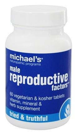 DROPPED: Michael's Naturopathic Programs - Male Reproductive Factors - 60 Vegetarian Tablets