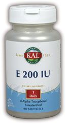Zoom View - E-200 d-Alpha Tocopherol