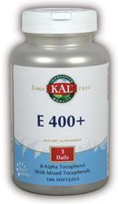DROPPED: Kal - E-400 + mixed Tocopherol - 180 Softgels