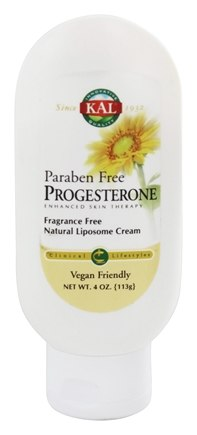 Zoom View - Progesterone Cream Fragrance Free