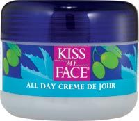 DROPPED: Kiss My Face - All Day Creme de Jour - 4 oz.