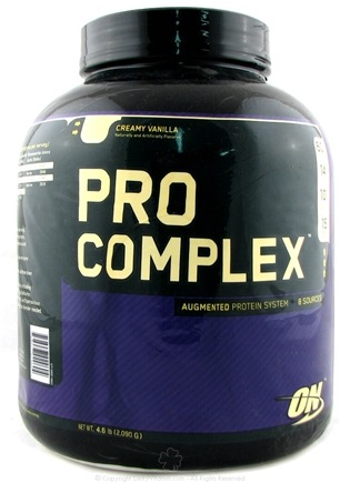 DROPPED: Optimum Nutrition - Pro Complex Augmented Protein System Creamy Vanilla - 4.6 lbs.