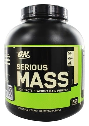 Optimum Nutrition - Serious Mass Vanilla - 6 lbs.