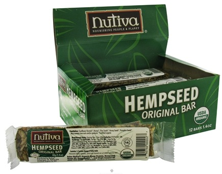 DROPPED: Nutiva - Organic Hempseed Original Bar - 1.4 oz. CLEARANCE PRICED