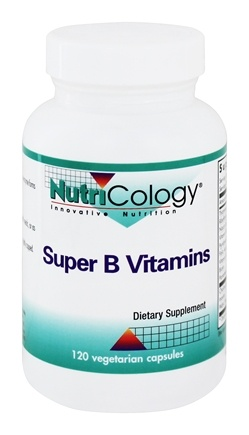Nutricology - Super B Vitamins - 120 Capsules