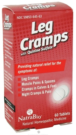 NatraBio - Leg Cramps - 60 Tablets