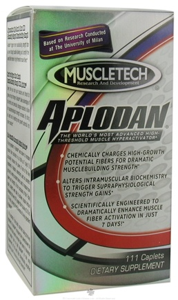 DROPPED: Muscletech Products - Aplodan - 111 Caplets CLEARANCE PRICED