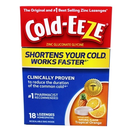 Zoom View - Zinc Gluconate Glycine Cold Remedy