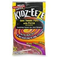 DROPPED: Cold-Eeze - Kidz-Eeze Sore Throat Pops With Pectin