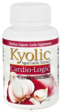 Zoom View - Aged Garlic Extract Cardio Logic