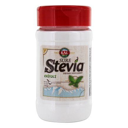 Kal - Pure Stevia Extract Powder - 3.5 oz.