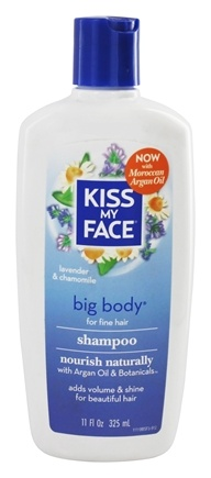 Kiss My Face - Shampoo Big Body Everyday Use Lavender & Chamomile - 11 oz.