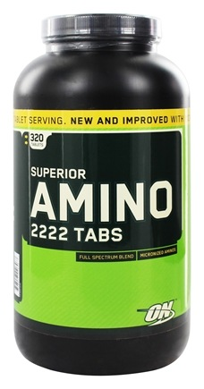 Zoom View - Superior Amino 2222 Tabs
