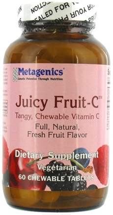 DROPPED: Metagenics - Juicy Fruit-C - 60 Tablets CLEARANCE PRICED
