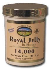 DROPPED: Premier One - Royal Jelly In Honey 14,000 - 11 oz. CLEARANCED PRICED