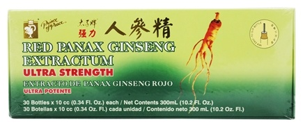 Zoom View - Red Panax Ginseng Extractum Ultra Strength