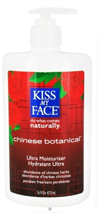 DROPPED: Kiss My Face - Ultra Moisturizer Chinese Botanical - 16 oz.