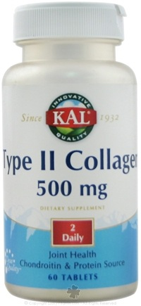 DROPPED: Kal - Type II Collagen 500 mg. - 60 Tablets