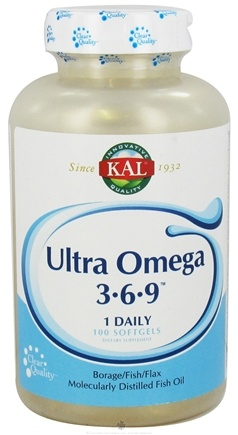 Zoom View - Ultra Omega 3-6-9 Molecularly Distilled Fish Oil