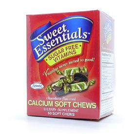 DROPPED: Nutrition Now - Calcium Soft Chews Sugar Free Vitamins - 60 Soft Chews